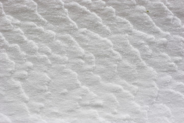 snow texture with waves