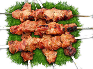shashlik and dill