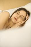 sleeping woman. poster