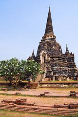 wat phra si sanphet chedis temple ayutthaya