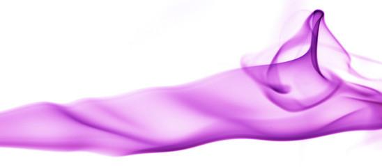 fumée violette
