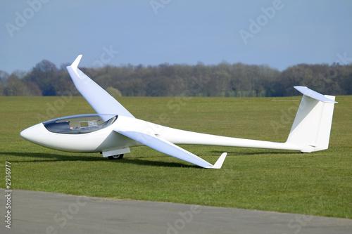 Leinwandbild Motiv white plane