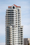 highrise building poster