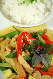 creamy thai chicken curry 2 poster
