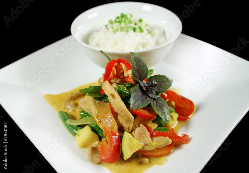 creamy thai chicken curry 1