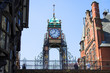eastgate clock, chester, england, uk