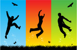 free jumping poster