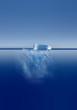 Leinwandbild Motiv iceberg