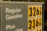 high price of gasoline poster