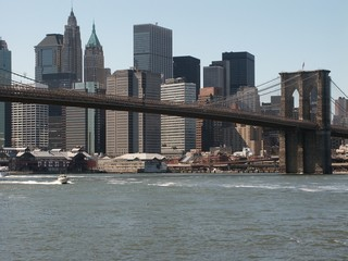across the east river