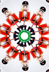 nut cracker through a kaleidoscope
