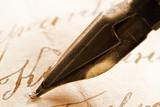 Fototapeta papier - długopis - Urządzanie Domu