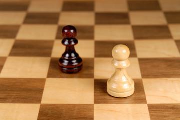black and white showdown