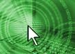 computer technology background - green