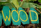 signage - wood poster