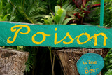 signage - poison poster