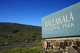 Haleakala National Park entrance, Maui, Hawaii. poster