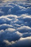 Clouds in Haleakala National Park, Maui, Hawaii. poster