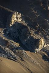 Cliff in Haleakala National Park, Maui, Hawaii.