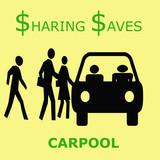sharing saves poster