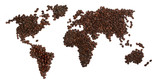 Fototapety coffee beans world
