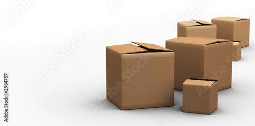boites cartons - 2964757