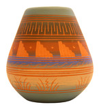 native american southwest pottery poster