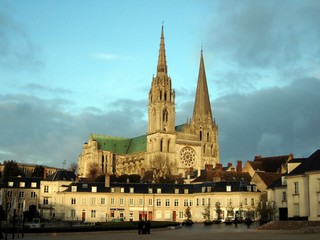 chartres au couchant