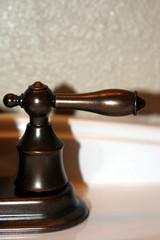 copper faucet handle