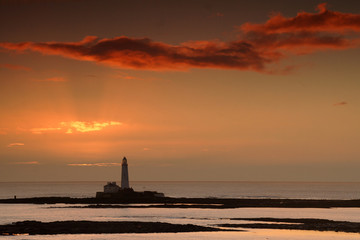 st, marys, lighthouse, whitley, bay