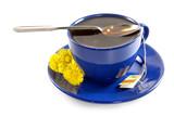 strong spring tea poster