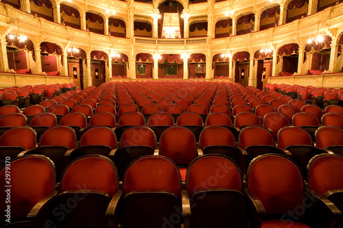 inside an old theater - 2979370