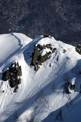 heli ski in krasnaya polyana.