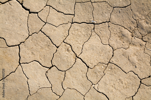 poster of dry mud field