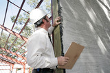 bulding inspection incomplete stucco poster