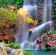 Leinwandbild Motiv waterfall