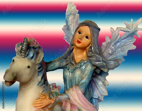 Poster Pony fairy and unicorn