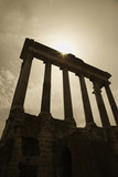 Roman Forum ruins, Rome, Italy. poster