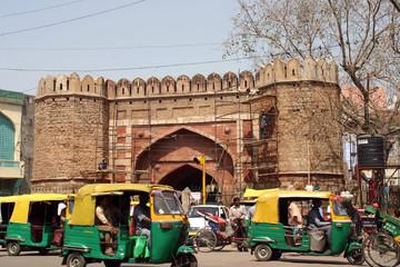 delhi market street