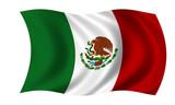 mexiko fahne mexico flag poster