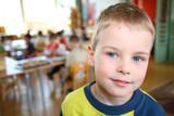 Fototapety child in kindergarten