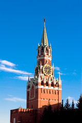 kremlin tower in moscow