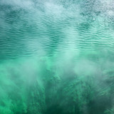 pool of turquoise water. poster