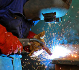 industrial steel welding