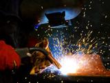 welding steel poster