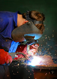 welding in industry poster