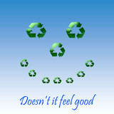 recycle smile poster