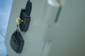 vault with keys
