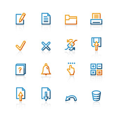 contour notebook icons