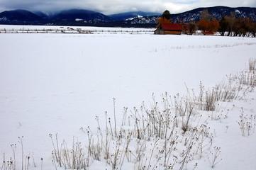 montana winter scenic